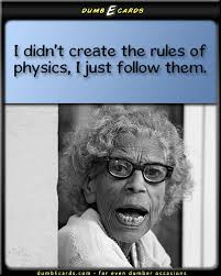 Happy Birthday Funny Quotes Magnificent Physics Rules DumbEcards For Even Dumber Occasions Funny