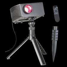 Cinemotion Halloween Movies Light Projection Stake With Sound Lightshow Cinemotion Halloween Movies Light Projection Stake
