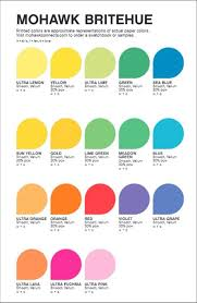 Mohawk Color Chart Astrobright Paper Color Chart Best Picture Of Chart