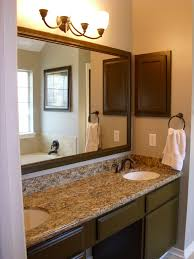 Bathroom High Cabinet Small Bathroom Ideas White Finish Varnished Wooden Frame Glass