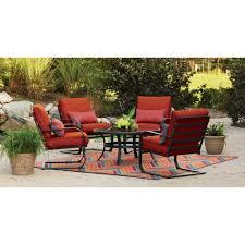 mainstays pyros c spring 5 piece conversation set chair box 1 of 2 com