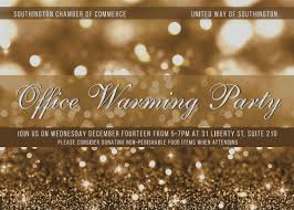 office warming party ideas. Elegant Office Warming Party Invitation Southington Chamber United Way New Holiday Ideas E