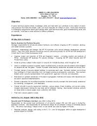 Fingerprint Specialist Sample Resume Simple Jim Waldron Resume 44