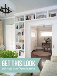 get this look living room built in shelves 7 tips for a stylish built living room