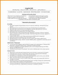 Resume Professional Summary Sample Professional Summary For Customer Service Resume Best Of 100 35