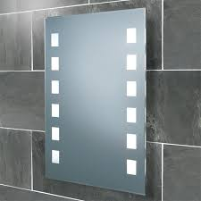 HIB Halifax Fluorescent Illumination Bathroom Mirror Portrait W700
