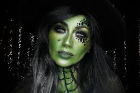 we are kicking off the season with a wickedly fabulous green witch makeup tutorial by beauty in the shadows this modern take on a clic look