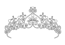 Small Picture Coloring Pictures Of Crowns Crown Coloring Pages Printable