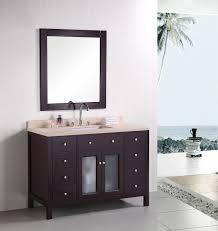 48 inch white bathroom vanity. Easily One Sink Bathroom Vanity Adorna 48 Inch Contemporary Single Set Solid White I