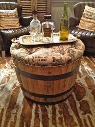 interesting ways of using wine barrels