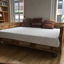 pallet furniture design. Delighful Furniture Industrial Pallet Daybed Throughout Furniture Design K