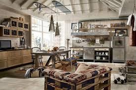 loft lighting ideas. Lighting Ideas Loft Style Open Plan Concept Kitchen Living Room