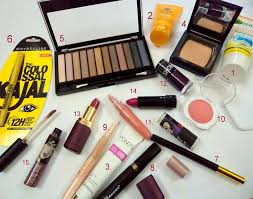 list able by simplybridal makeup make up kit indian college s