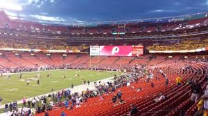 Fedex Field Club Level Seating Chart Home Of The Washington Redskins Review Of Fedexfield