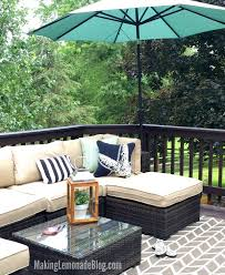 wow a tutorial on how to stain a deck took this old deck from scary outdoor sectional couch