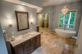 transitional bathroom designs. Eisenhower Transitional Bathroom Remodel Designs
