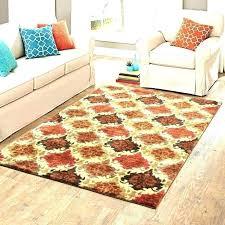 rugs bright colors black and orange rug area rugs bright colors colored red brown tan plush