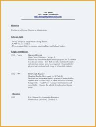Cv Template For Care Assistant Resume Template Childcare Daycare Examples Child Care