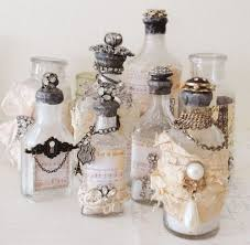 How To Decorate Perfume Bottles Recycled Perfume Bottles Decoration Pieces Perfume bottle 2