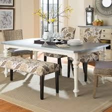 Metal Top Dining Tables Matisse Antique White Dining Table With Galvanized Metal Top For