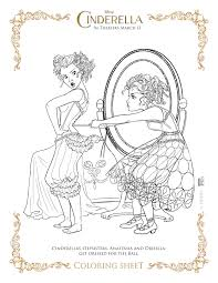 Free Printable Cinderella Coloring Pages For Kids In Neuhneme