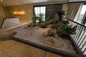 Japanese Interior Zen Garden Idea