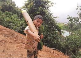 Chuyện chưa kể về cậu bé vác măng rừng ủng hộ chống dịch Covid-19 | Báo Dân  tộc và Phát triển