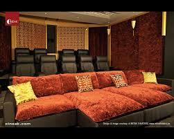 media room furniture. Cineak Intimo \u0026 Fortuny Luxury Home Theater - Modern Media Room . Furniture