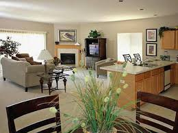 Small Picture open living room and kitchen designs open kitchen living room