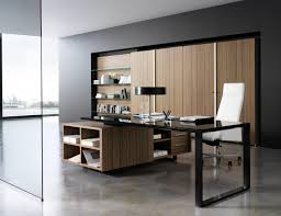 office desks with storage. Modern Office Furniture With Glass Desk And Storage File Cabinet Also Wall Open Shelves Desks