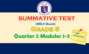 Multiplication and division of fractions and decimal fractions. Summative Test Quarter 2 Grade 6 For Modules 1 2 Direct Drive Download Guro Ako
