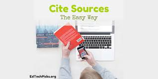 Cite Sources The Easy Way Nicks Picks For Educational Technology