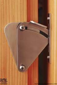 Teardrop Privacy Lock for Sliding Doors | Privacy lock, Barn doors ...