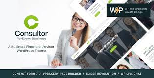 Consultor   A Business Financial Advisor WordPress Theme by AncoraThemes