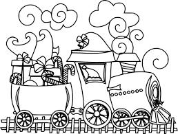 Coloriage Train De No L Imprimer