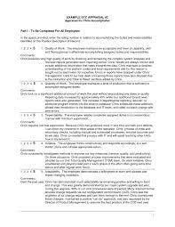review examples for employees employee review form examples expin franklinfire co intended for