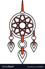 Dream Catcher Symbolism Magnificent Dream Catcher Symbol Royalty Free Vector Image