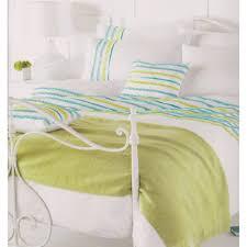 stunning white teal green ruffled super king size duvet cover