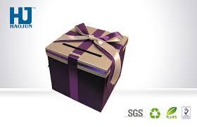 china silver color gift ng bo candy chocolate corrugated gift bo supplier