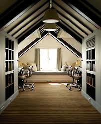 attic home office. 37 Cool Attic Home Office Design Inspirations DigsDigs