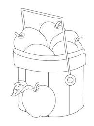 p_AppleBasket printable coloring pages free coloring page printables parents com on key log printable