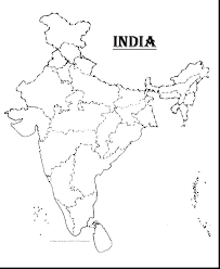 India Map Colouring Pages Casadelarosainfo