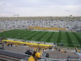 Notre Dame Stadium Seating Chart Garth Brooks Notre Dame Stadium View From Upper Level 126 Vivid Seats