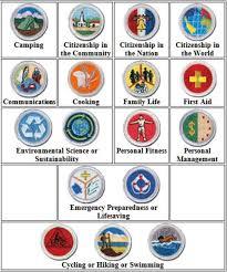 Emergency Preparedness Merit Badge Chart Merit Badges