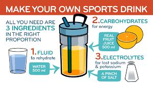 diy sports drinks