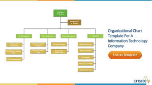 Company Structure Chart Template Organizational Chart Templates By Creately