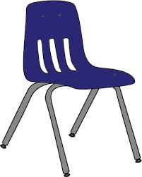 blue school chair. Chair Clipart School #15 Blue C