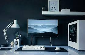 office set up ideas. Gaming Room Setup Pc Computer Desk  Rooms Office Set Up Ideas
