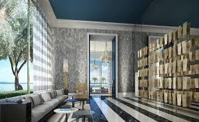Living Room Bar Miami Jean Louis Deniot Designs New Tower In Miami