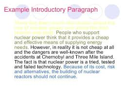 Example Of Introduction Paragraph To An Essay Introduction Room 112